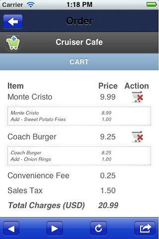 CruiserCafe - screenshot