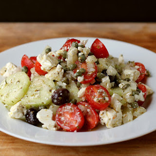 Greek Salad with an Ikarian Touch