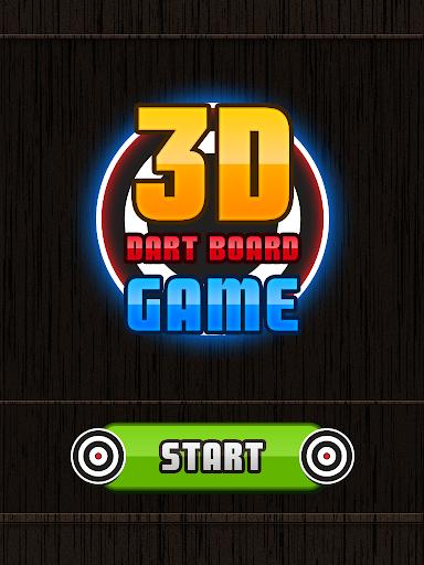 3D Dart Board Game