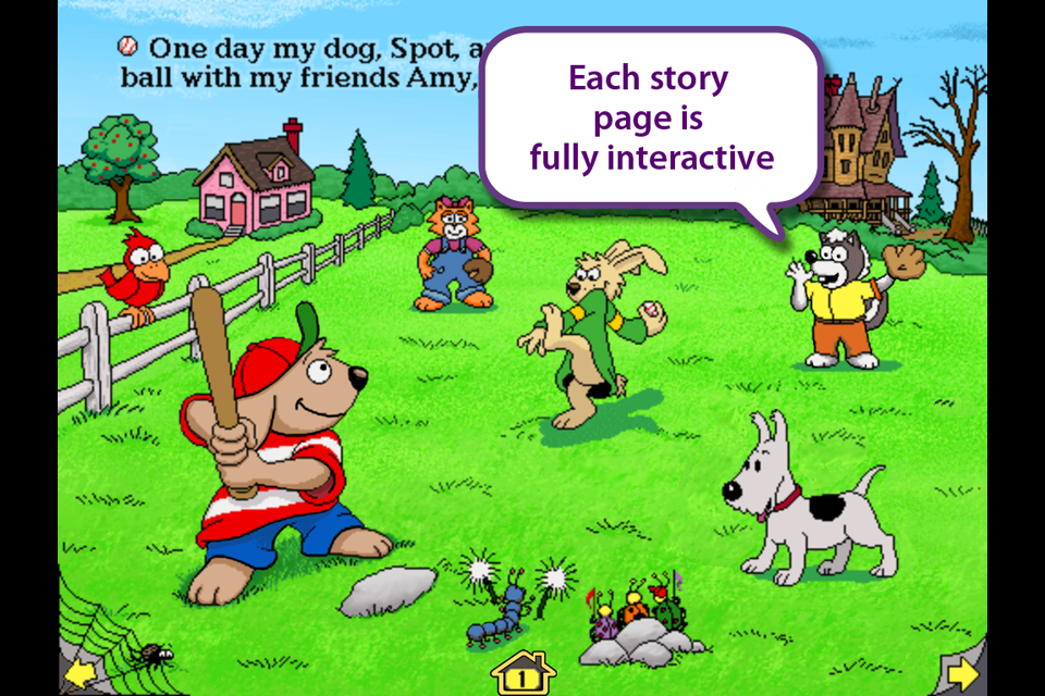 Wanderful Storybook Sampler- screenshot