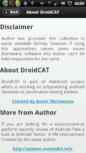 Droidcat - beta- screenshot thumbnail