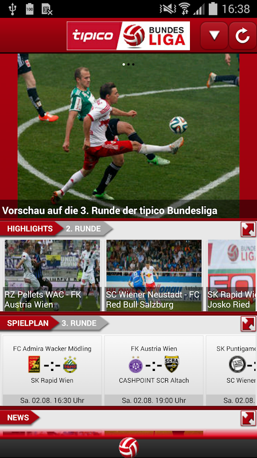 Fußball-Bundesliga - screenshot