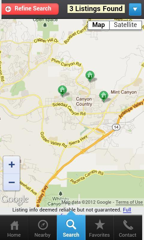 Santa Clarita Homes IDXAgent - screenshot