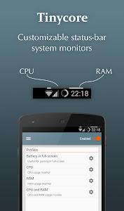Tinycore - CPU, RAM monitor v3.2.4 (Pro)