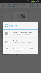 OS|mobileDMS for OS|ECM - screenshot thumbnail