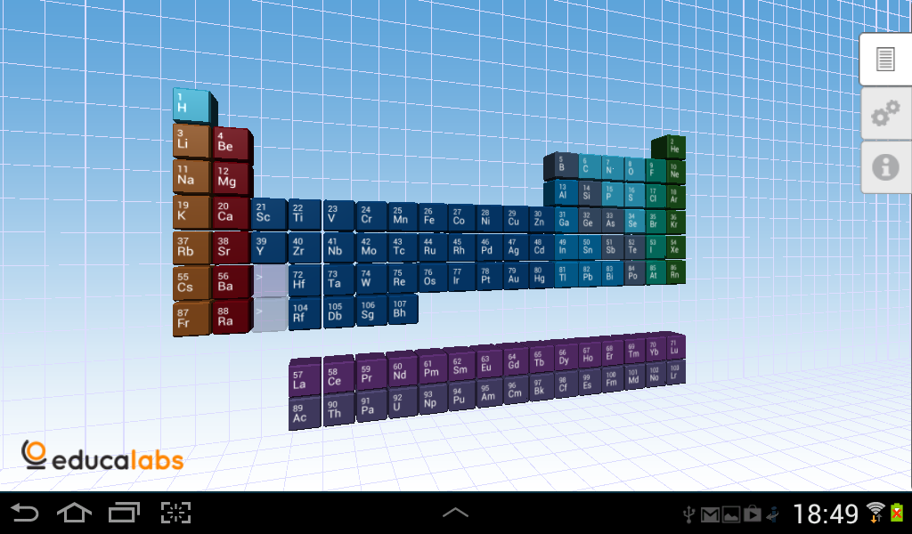 Periodic Table Educalabs- screenshot