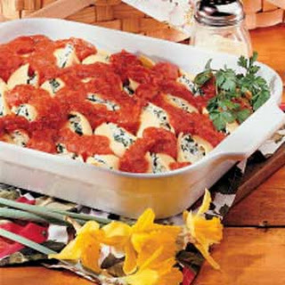 Stuffed Pasta Shells.