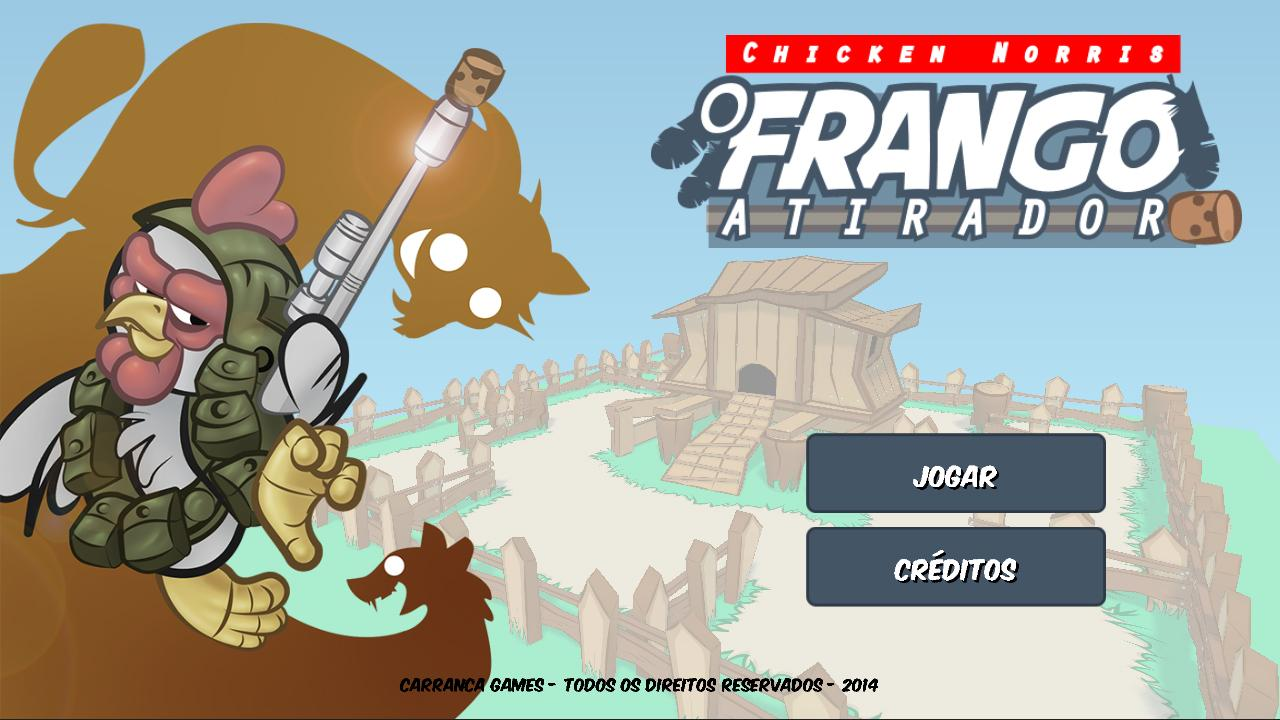 Chicken Norris Frango Atirador- screenshot