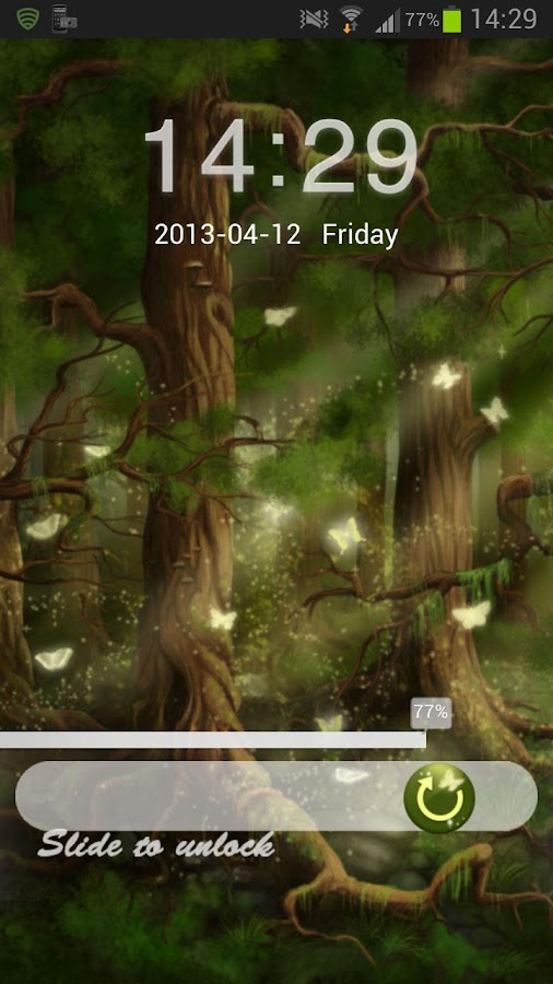 GO Locker Theme Forest - screenshot
