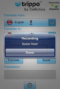 Trippo VoiceMagix Speech Trans - screenshot thumbnail