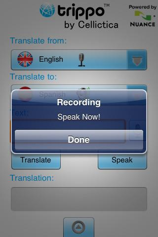 Trippo VoiceMagix Speech Trans - screenshot