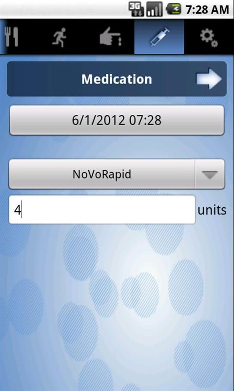 HelpDiabetes - screenshot