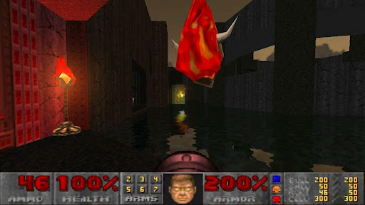 Doom GLES v1.09.2 APK لعبة دووم !!!