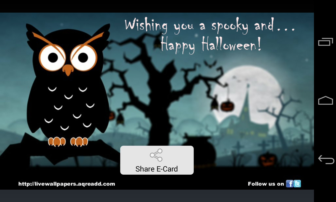 Halloween Greetings Android Apps On Google Play