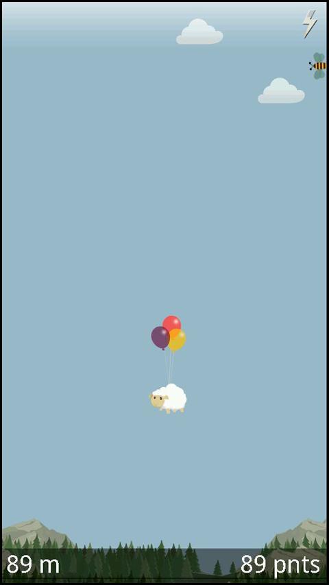 Flying Sheep- screenshot