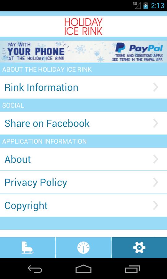 Holiday Ice Rink- screenshot