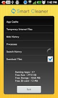 Screenshot of Smart Cleaner