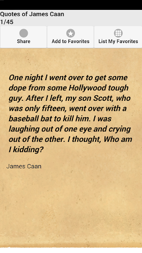 Quotes of James Caan