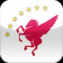 천마 앱 logo