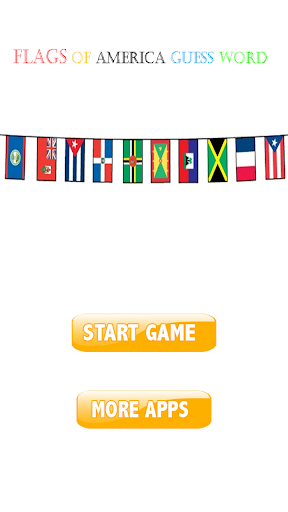 Flags of america guess word