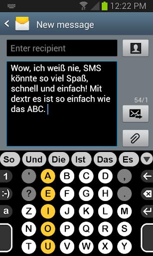 Deutsch Wörterbuch für Dextr