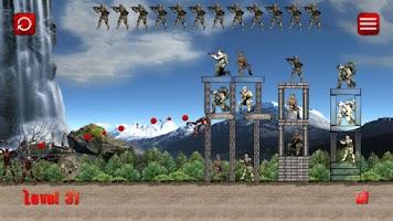 Screenshot of Zombies vs Human Army
