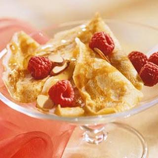 Almond Cream Crepes.