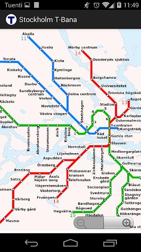 Stockholm T-Bana offline