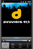 Screenshot of Difusora FM