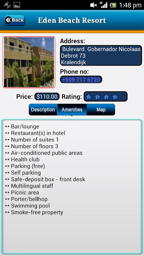 Bonaire Offline Travel Guide- screenshot