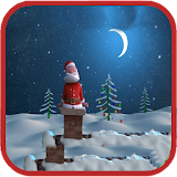 Santa Live Wallpaper free version