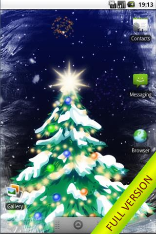 Winter Snowfall FREE Wallpaper - screenshot