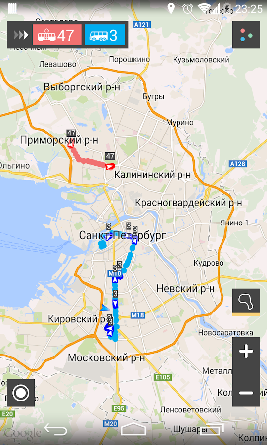 Автобусы СПб – скриншот