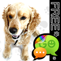 Cute Dog Theme for GO SMS Pro icon