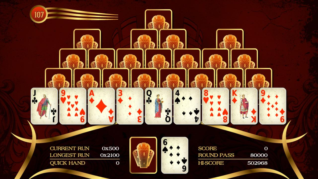 Towers Solitaire - screenshot