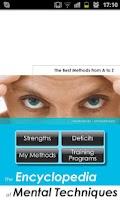 Screenshot of Mental Techniques Lite