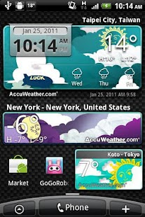 9s-Weather Theme+(PaperCut)- screenshot thumbnail