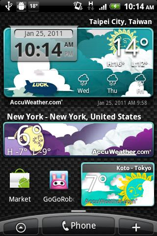 9s-Weather Theme+(PaperCut)- screenshot
