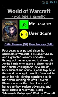 Metacritic Searcher- screenshot thumbnail