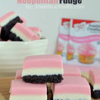 Neapolitan Fudge.