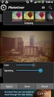 Screenshot of PhotoGear Pro