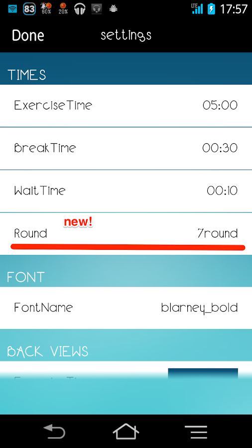 Interval timer HIIT Training- screenshot