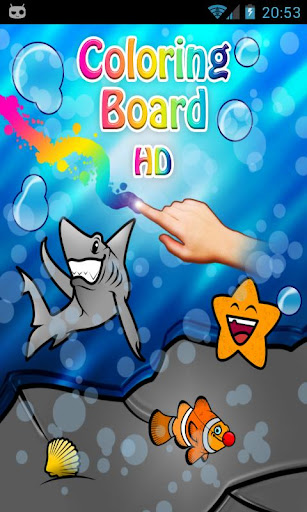 Coloring Board - Water Ad