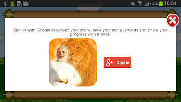 Screenshot of NaMo Lion
