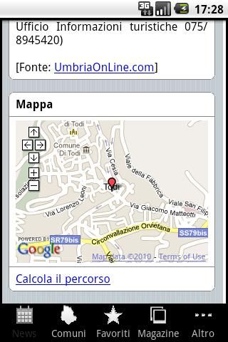 Umbria OnLine - screenshot