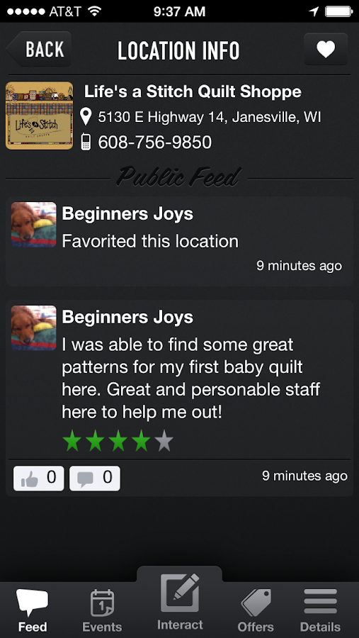 Quilter's Thread- screenshot