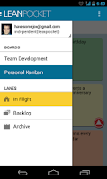 Screenshot of LeanPocket - A LeanKit Client