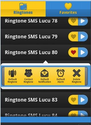 Ringtone SMS Lucu - screenshot