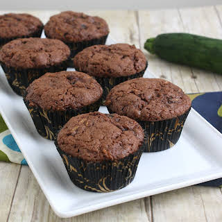 Chocolate Chip Zucchini Muffins.