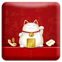 LuckyCat GO Locker Theme icon